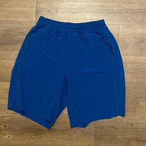Lululemon Mens Pace Breaker Shorts w/ Liner Size L